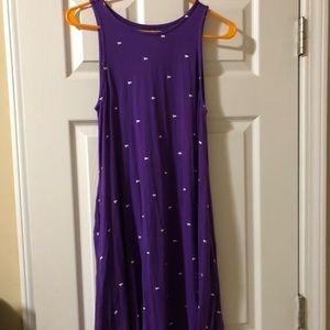 Purple tiger dress